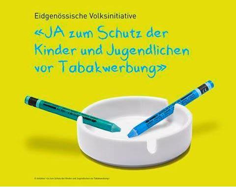 Ja zum Schutz der Kinder und Jugendlichen vor Tabakwerbung – Volksinitiative